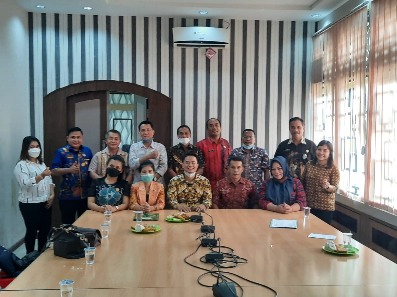 Kunjungan Anggota DPRD Nias