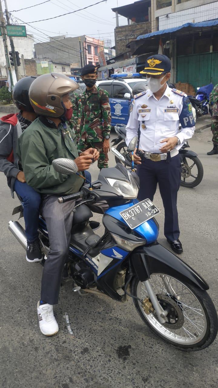 Pengamanan PPKM Level 4