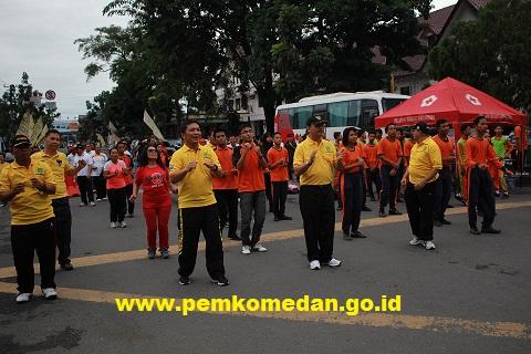 Car Free Day Di Medan Disambut Positif