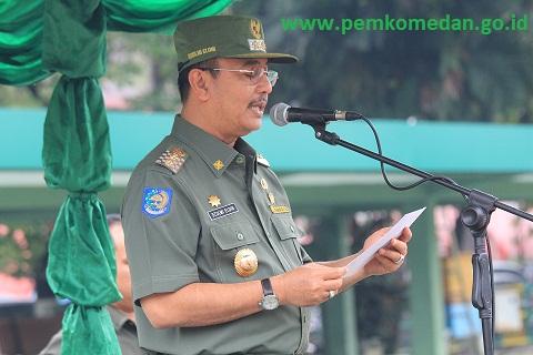Plt Walikota Medan Hadiri Apel Gelar Pasukan Terkait Pengamanan Sidang Seapac